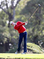 David Smail during the Charles Tour Augusta Funds Management Ngamotu Classic, Ngamotu Golf Course, New Plymouth, New Zealand, Thursday 12 October 2017.  Photo: Simon Watts/www.bwmedia.co.nz