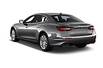 Car pictures of rear three quarter view of a 2018 Maserati Quattroporte S 2WD 4 Door Sedan angular rear