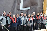 ZEILEN: SKS Skûtsjesilen 2014, Lemster Skûtsje, ©foto Martin de Jong