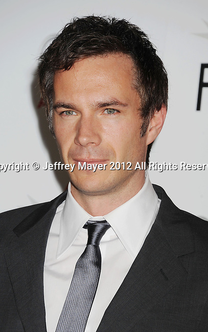 HOLLYWOOD, CA - NOVEMBER 01: James D'Arcy arrives at the opening night gala premiere of 'Hitchcock' during the 2012 AFI FEST at Grauman's Chinese Theatre on November 1, 2012 in Hollywood, California.