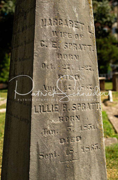 Photography of the Old Settlers' Cemetery is a city owned cemetery located at 200 West 5th Street, in Charlotte, North Carolina<br /> <br /> The cemetery contains the remains of many of the most prominent citizens of Charlotte and Mecklenburg County in the late 18th and 19th Centuries. The cemetery is located in the Charlotte's Fourth Ward neighborhood.<br /> <br /> Charlotte Photographer -PatrickSchneiderPhoto.com