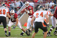 18 November 2006: Mikal Brewer and T.C. Ostrander during Stanford's 30-7 loss to Oregon State at Stanford Stadium in Stanford, CA.