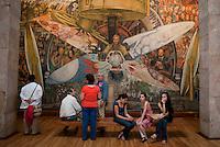 Bellas Artes, Centro Historico, Mexico City, Mexico. Aromas y Sabores with Chef Patricia Quintana