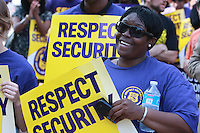 SEIU 32BJ Respect Security Rally Baltimore