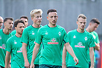04.07.2019, Parkstadion, Zell am Ziller, AUT, TL Werder Bremen - Tag 00<br /> <br /> im Bild / picture shows 1. Training im TL Zillertal am Mittwoch abend<br /> <br /> Kevin Möhwald / Moehwald (Werder Bremen #06)<br /> <br /> Foto © nordphoto / Kokenge