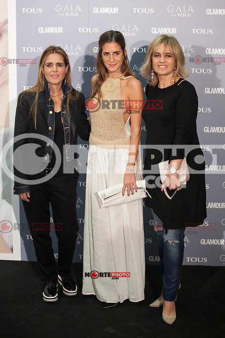 Rosa Tous and Gala Gonzalez pose for the photographers during TOUS presentation in Madrid, Spain. January 21, 2015. (ALTERPHOTOS/Victor Blanco) /NortePhoto<br />