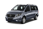 2019 Mercedes Benz Metris Base 5 Door Combi angular front stock photos of front three quarter view