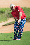 John Daly during the World Celebrity Pro-Am 2016 Mission Hills China Golf Tournament on 22 October 2016, in Haikou, China. Photo by Weixiang Lim / Power Sport Images