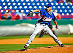 3 March 2009: Italy's pitcher Luca Panerati in action during an MLB Spring Training exhibition game against the Washington Nationals at Space Coast Stadium in Viera, Florida. The Nationals defeated Italy 9-6. Mandatory Photo Credit: Ed Wolfstein Photo