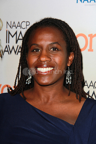 PASADENA, CA - FEBRUARY 5: Hanelle M. Culpepper at the 46th NAACP Image Awards Non-Televised Ceremony at the Pasadena Convention Center in Pasadena, California on February 5, 2015. Credit: David Edwards/Dailyceleb/MediaPunch