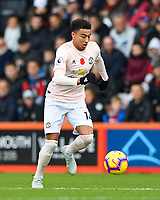 Jesse Lingard of Manchester United during AFC Bournemouth vs Manchester United, Premier League Football at the Vitality Stadium on 3rd November 2018