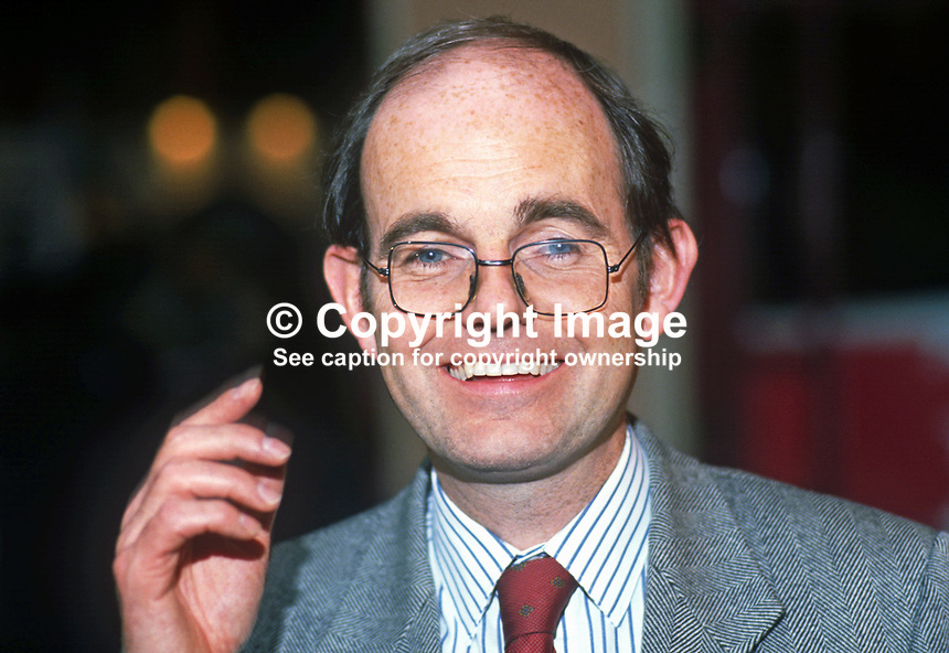 Chris Mullin, MP, Labour Party, UK, 19901002001.<br />