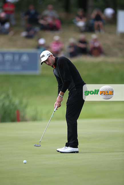 Matthew Nixon (ENG) shot a 67 during Round Two of the Made in Denmark 2014 Pro-Am from the Himmerland Golf & Spa Resort, Aalborg, Denmark. Picture:  David Lloyd / www.golffile.ie