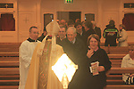 re dedication of St patricks Stamullen by Bishop Micheal Smith..Picture Fran Caffrey.