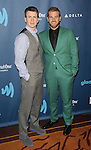 """Chris Evans and brother Scott Evans at the """"24th Annual GLAAD Media Awards"""" held at the JW Marriott Hotel in Los Angeles, CA. April 20, 2013."""