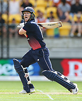 Englands Eoin Morgan during the third ODI cricket match between the Blackcaps & England at Westpac stadium, Wellington. 3rd March 2018. © Copyright Photo: Grant Down / www.photosport.nz