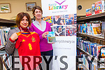 Killarney Library are inviting everyone to a Spanish Cultural Exchange starting this Thursday to allow locals to learn about Spanish culture and improve their language skills. <br /> L-R Lina Alonso and Hazel Joy