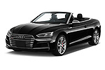 2018 Audi S5 Base 2 Door Convertible angular front stock photos of front three quarter view