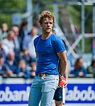 DEN HAAG -  coach Erik van Driel (HDM)   tijdens  de eerste Play out wedstrijd hoofdklasse heren ,  HDM-HCKZ (1-2) . COPYRIGHT KOEN SUYK