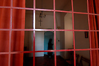 Nazareth / Israele.Convento di clausura delle Suore Carmelitane.Foto Livio Senigalliesi..Nazareth / Israel.Monastery of the Carmelite nuns.Photo Livio Senigalliesi