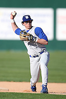 February 20, 2009:  Shortstop Ed Brown (3) of Seton Hall University during the Big East-Big Ten Challenge at Jack Russell Stadium in Clearwater, FL.  Photo by:  Mike Janes/Four Seam Images
