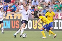 Abby Wambach...USWNT tied Sweden 1-1 at Morrison Stadium, Omaha Nebraska.