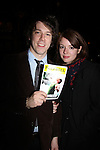 "Guiding Light Aubrey Dollar and now on The Good Wife poses with boyfriend John Gallagher, Jr. (who stars in Jerusalem as ""Lee"") at Opening Night of Broadway's Jerusalem on April 21, 2011 at the Music Box Theatre, New York City, New York. (Photo by Sue Coflin/Max Photos)"