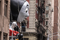 NEW YORK, NY - NOVEMBER 24: 90th annual Macy's Thanksgiving Day Parade in Six Avenue, on November 24, 2016 in New York City.  Photo by VIEWpress/Maite H. Mateo.