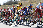 Primoz Roglic (SLO) Team Jumbo-Visma in action during Stage 5 of La Vuelta 2019 running 170.7km from L'Eliana to Observatorio Astrofisico de Javalambre, Spain. 28th August 2019.<br /> Picture: Luis Angel Gomez/Photogomezsport | Cyclefile<br /> <br /> All photos usage must carry mandatory copyright credit (© Cyclefile | Luis Angel Gomez/Photogomezsport)
