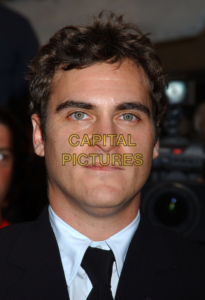 "JOAQUIN PHOENIX.2005 Toronto Film Festival - ""Walk The Line"" Premiere held at Roy Thomson Hall, Toronto, Ontario..September 13th, 2005.Photo Credit: Laura Farr/AdMedia.headshot portrait scar.www.capitalpictures.com.sales@capitalpictures.com.© Capital Pictures."