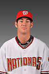 14 March 2008: ..Portrait of Bradley Clark, Washington Nationals Minor League player at Spring Training Camp 2008..Mandatory Photo Credit: Ed Wolfstein Photo
