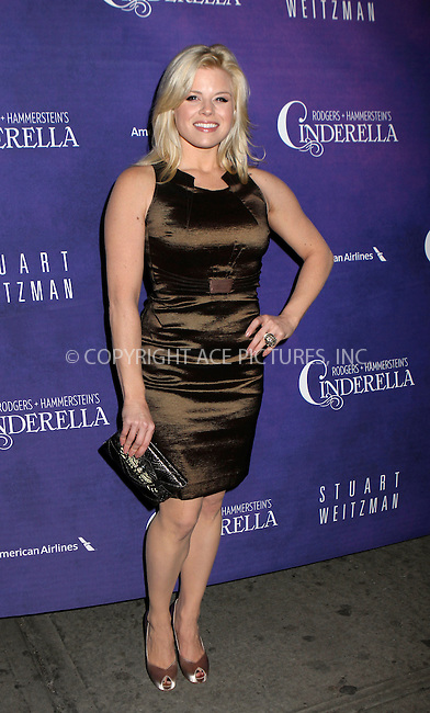 WWW.ACEPIXS.COM....March 3 2013, New York City....Megan Hilty arriving at the 'Cinderella' Broadway Opening Night at Broadway Theatre on March 3, 2013 in New York City.....By Line: Nancy Rivera/ACE Pictures......ACE Pictures, Inc...tel: 646 769 0430..Email: info@acepixs.com..www.acepixs.com