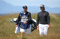 Kristoffer Broberg (SWE) during Round One of the 145th Open Championship, played at Royal Troon Golf Club, Troon, Scotland. 14/07/2016. Picture: David Lloyd | Golffile.<br /> <br /> All photos usage must carry mandatory copyright credit (&copy; Golffile | David Lloyd)