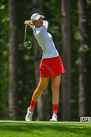 Nelly Korda (USA) watches her tee shot on 2 during round 1 of the U.S. Women's Open Championship, Shoal Creek Country Club, at Birmingham, Alabama, USA. 5/31/2018.<br /> Picture: Golffile | Ken Murray<br /> <br /> All photo usage must carry mandatory copyright credit (&copy; Golffile | Ken Murray)