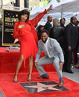 LOS ANGELES, CA. January 28, 2019: Taraji P. Henson & Kelvin Hayden at the Hollywood Walk of Fame Star Ceremony honoring Taraji P. Henson.<br /> Pictures: Paul Smith/Featureflash