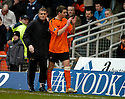 18/02/2006         Copyright Pic: James Stewart.File Name : sct_jspa19_dundee_utd_v_inverness.CHARLIE MULGREW GOES OFF INJURED.Payments to :.James Stewart Photo Agency 19 Carronlea Drive, Falkirk. FK2 8DN      Vat Reg No. 607 6932 25.Office     : +44 (0)1324 570906     .Mobile   : +44 (0)7721 416997.Fax         : +44 (0)1324 570906.E-mail  :  jim@jspa.co.uk.If you require further information then contact Jim Stewart on any of the numbers above.........