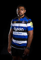Taulupe Faletau poses for a portrait at a Bath Rugby photocall. Bath Rugby Media Day on August 24, 2016 at Farleigh House in Bath, England. Photo by: Rogan Thomson / JMP / Onside Images