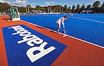 2011 Ned-Belgie op blauw gras