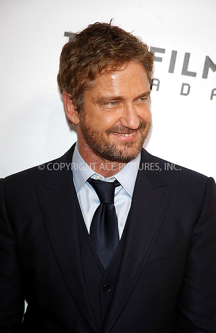 WWW.ACEPIXS.COM<br /> <br /> September 14 2015, Toronto<br /> <br /> Gerard Butler attending the premiere of Septembers of Shiraz during the 40th Toronto International Film Festival, TIFF, at Roy Thomson Hall in Toronto, Canada<br /> <br /> By Line: Famous/ACE Pictures<br /> <br /> <br /> ACE Pictures, Inc.<br /> tel: 646 769 0430<br /> Email: info@acepixs.com<br /> www.acepixs.com