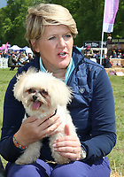 Clare Balding at Dogfest 2019 - South - held at Knebworth Park, Knebworth, Herts on May 11th 2019<br /> CAP/ROS<br /> &copy;ROS/Capital Pictures