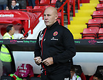 Jon Whitney manager of Walsall during the Carabao Cup round One match at Bramall Lane Stadium, Sheffield. Picture date 9th August 2017. Picture credit should read: Jamie Tyerman/Sportimage