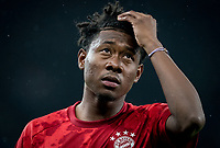 David Alaba of Bayern Munich pre match during the UEFA Champions League group match between Tottenham Hotspur and Bayern Munich at Wembley Stadium, London, England on 1 October 2019. Photo by Andy Rowland.