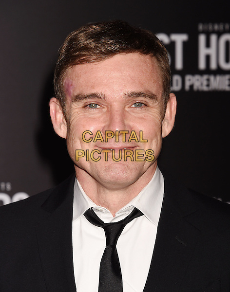 HOLLYWOOD, CA - JANUARY 25: Actor Ricky Schroder arrives at the Premiere Of Disney's 'The Finest Hours' at TCL Chinese Theatre on January 25, 2016 in Hollywood, California.