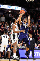 Wednesday, January 4, 2016: Georgetown Hoyas guard Jagan Mosely (4) takes a shot at the basket during the NCAA basketball game between the Georgetown Hoyas and the Providence Friars held at the Dunkin Donuts Center, in Providence, Rhode Island. Providence defeats Georgetown 76-70 in regulation time. Eric Canha/CSM