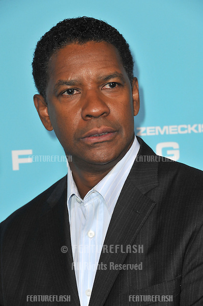 "Denzel Washington at the Los Angeles premiere of his new movie ""Flight"" at the Cinerama Dome, Hollywood..October 23, 2012  Los Angeles, CA.Picture: Paul Smith / Featureflash"