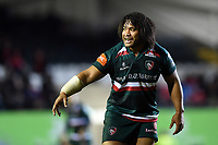 Tatafu Polota-Nau of Leicester Tigers. European Rugby Champions Cup match, between Leicester Tigers and Munster Rugby on December 17, 2017 at Welford Road in Leicester, England. Photo by: Patrick Khachfe / JMP