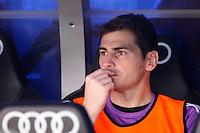 Real Madrid's Iker Casillas during La Liga Match. September 01, 2013. (ALTERPHOTOS/Caro Marin) <br /> Football Calcio 2013/2014<br /> La Liga Spagna<br /> Foto Alterphotos / Insidefoto <br /> ITALY ONLY