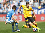CD Leganes' Unai Bustinza (l) and Malaga CF's Jony Rodriguez during La Liga match. February 25,2017. (ALTERPHOTOS/Acero)