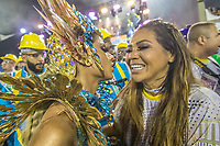 Rio de Janeiro (RJ) 24/02/20 Carnaval- Rio - Apresentacao da escola de samba Unidos da Tijuca do grupo especial, no segundo dia de desfile no Sambodromo na Marques de Sapucai nesta segunda - feira de Carnaval (24). Rainha de bateria a cantora Lexa. (Foto: Ellan Lustosa/Codigo 19/Codigo 19)