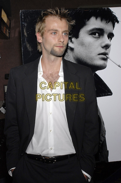 "JOE ANDERSON.New York premiere of The Weinstein Company's ""Control"" held at Chelsea West Cinema, New York City, New York, USA..September 25th, 2007.half length black suit jacket white shirt goatee facial hair .CAP/ADM/BL.©Bill Lyons/AdMedia/Capital Pictures. *** Local Caption ***"